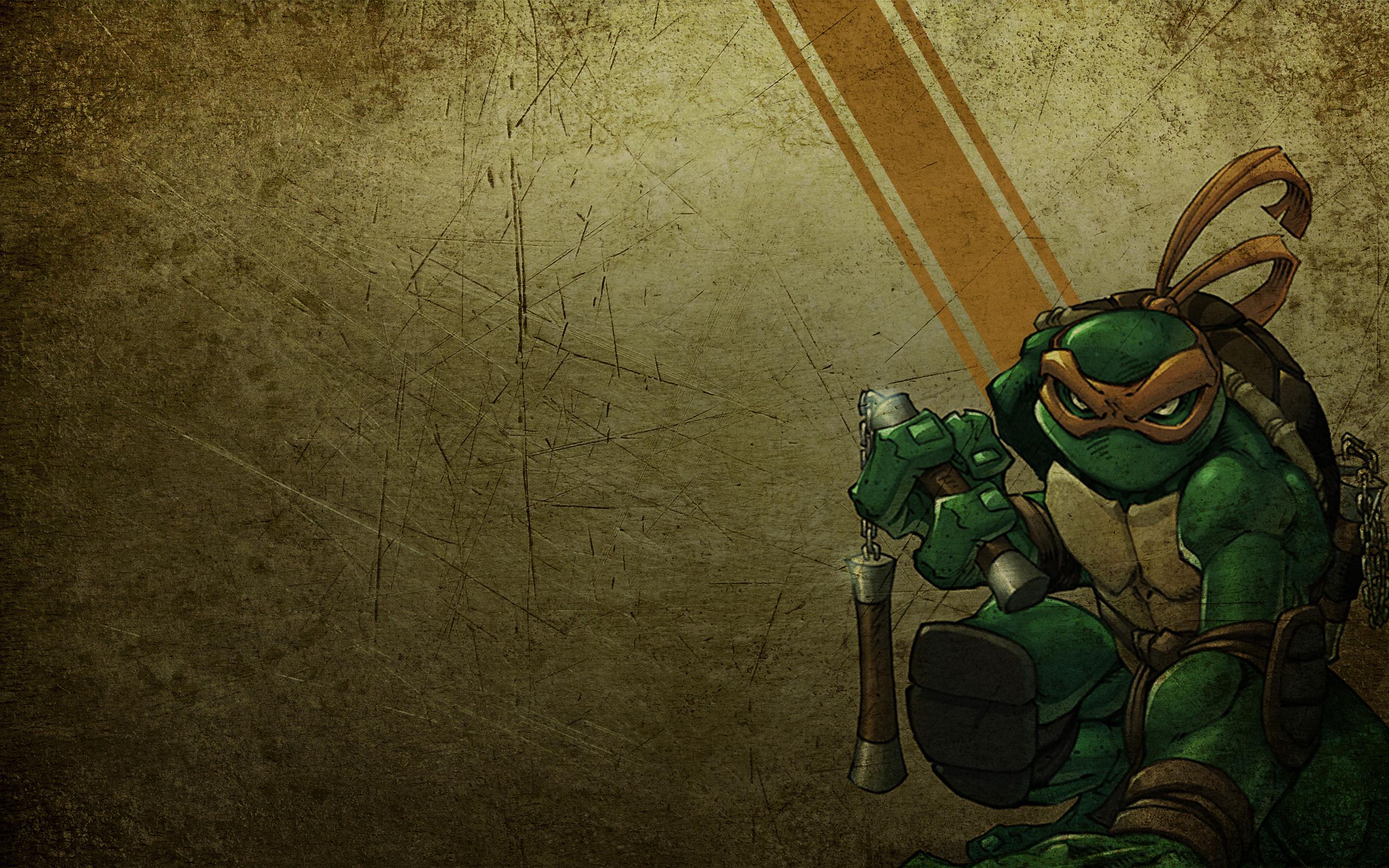 TMNT   Michaelangelo Wallpaper 2560 x 1600 2560x1600