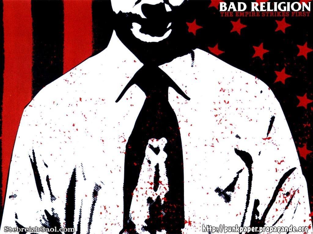 Parede Gratuito de Msica Bad Religion   The Empire Strikes First 1024x768