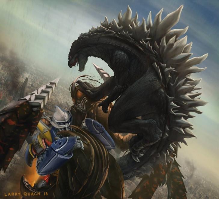 Godzilla 2014 HD Wallpaper for screensaver Wallpaper Movies 44858 728x662