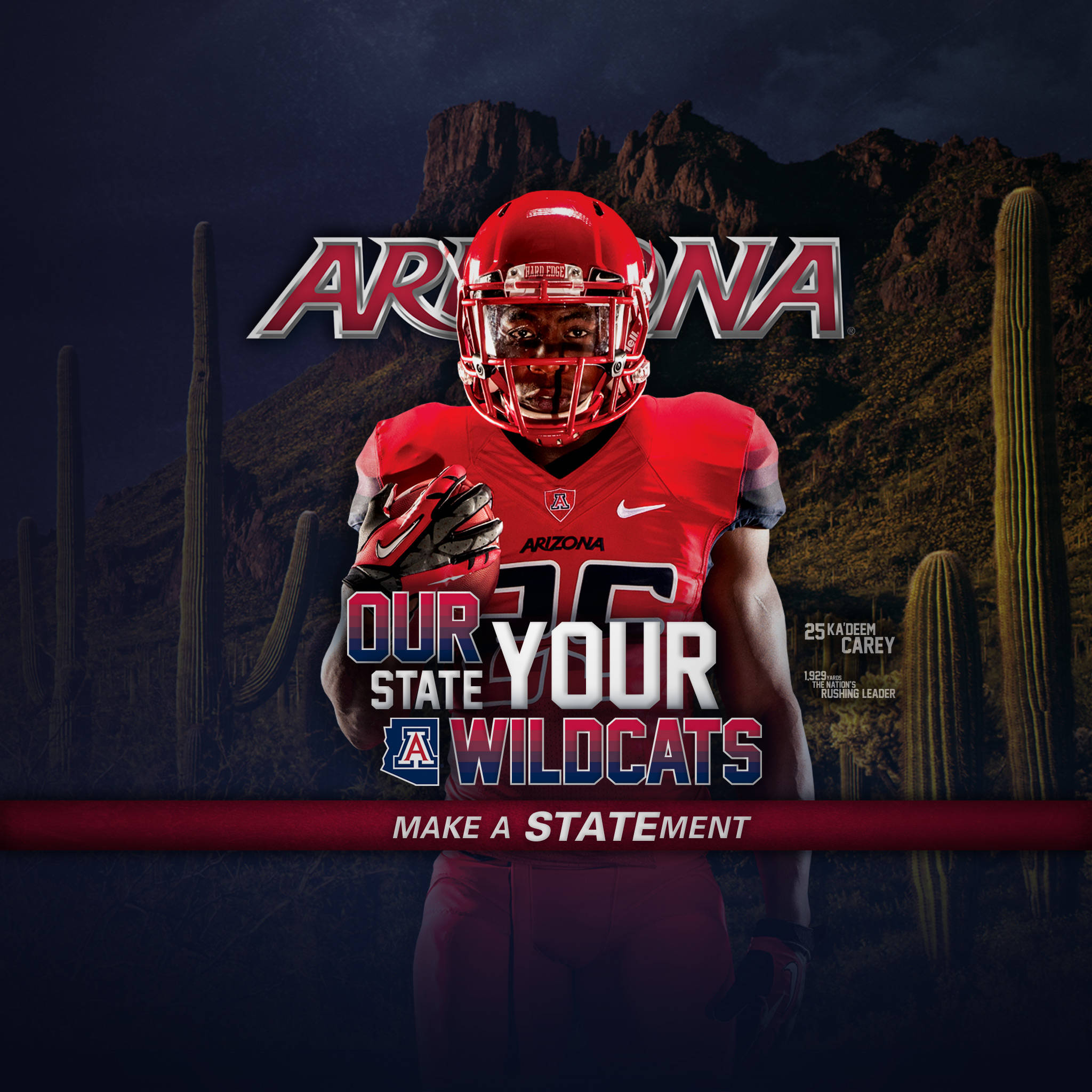 Group Of Arizona Wildcats Desktop Wallpaper 1366X768