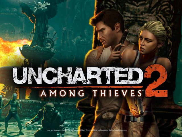 Uncharted 2 Among Thieves Wallpapers PlayStation 3 640x480