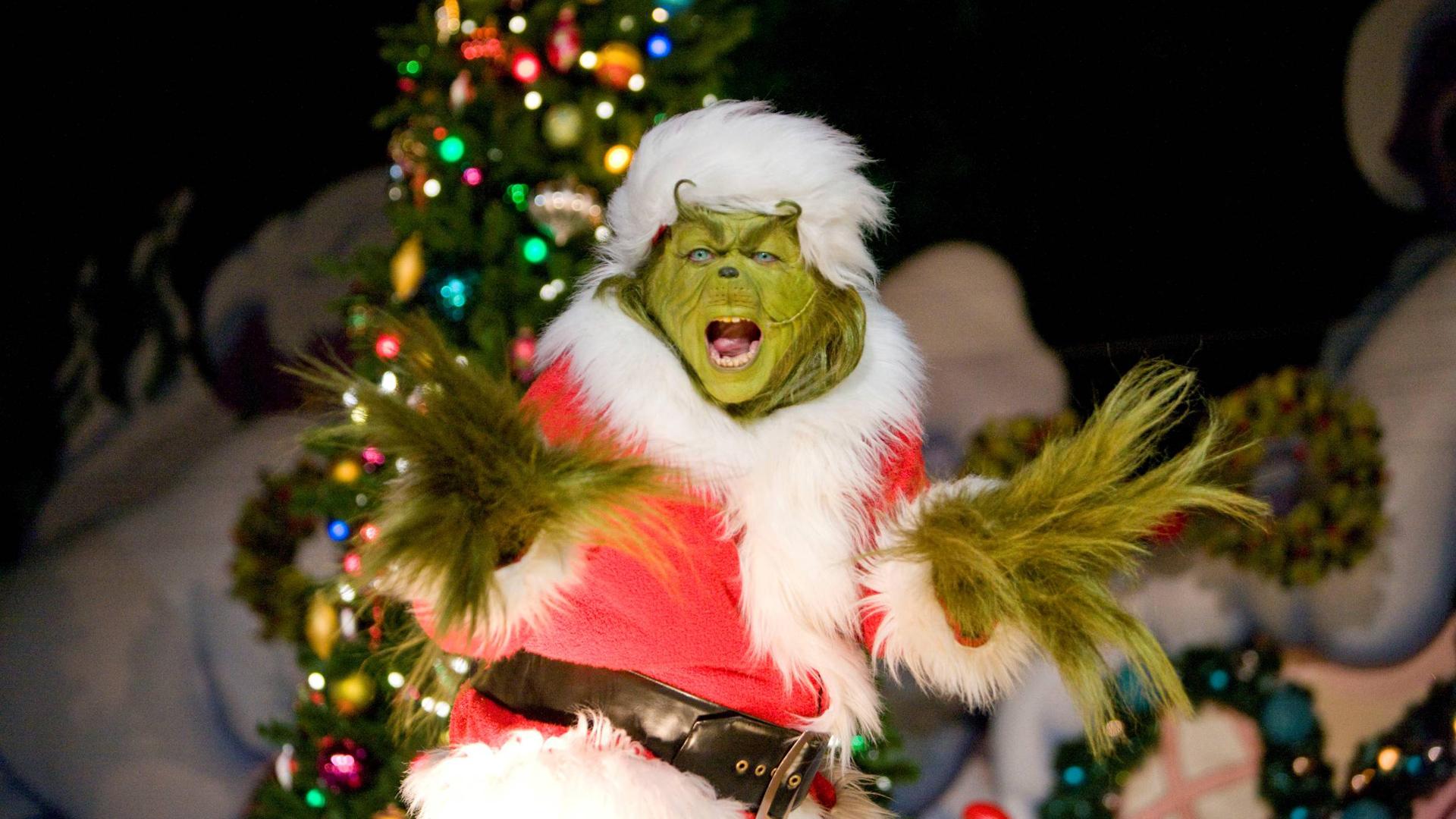 download Grinch Full HD Wallpaper Christmas 1080p 1920x1080