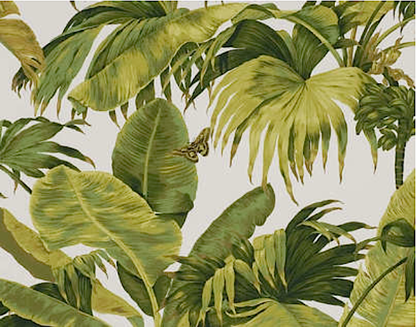 order of appearance are the tropical print wallpaper bananier from the 600x471
