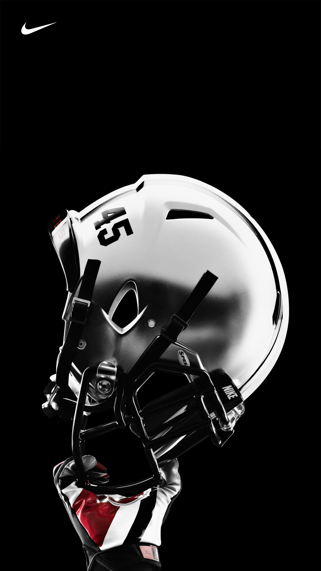 Ohio State Nike Pro Combat Football Uniform Helmet 1080x1920