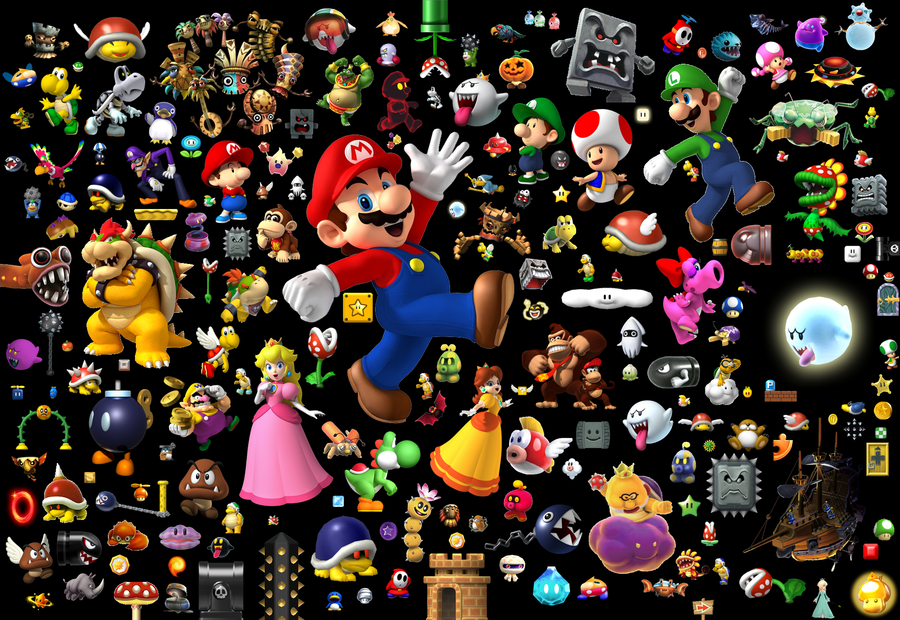 Free Download Mario Wallpaper 2 By Yoshigo99 900x620 For Your