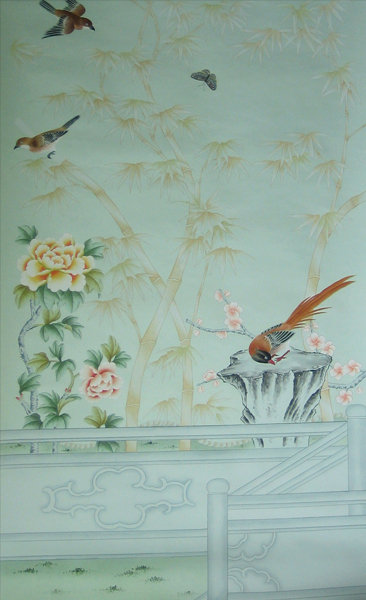 Free Download Chinese Wallpaper Chinoiserie Wallpaper Silk