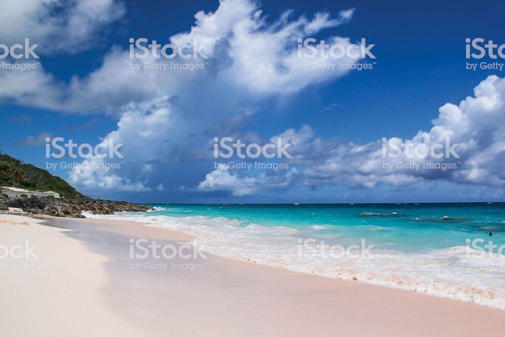 Bermuda Turquoise Water Of Atlantic Ocean And Blue Sky Fantastic 1024x683