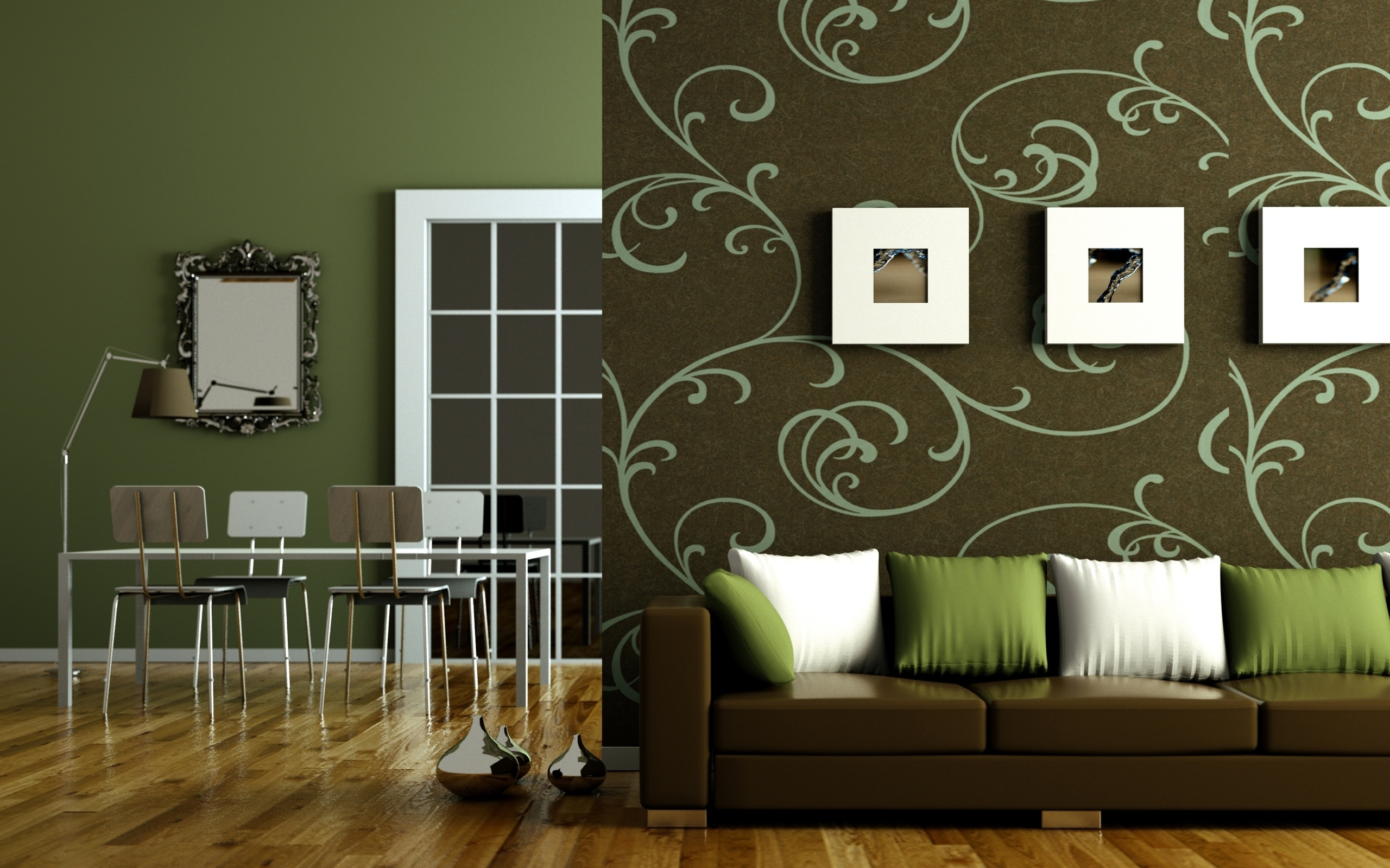 Flat Interior Design Wallpapers 2560x1600 1122607 2560x1600