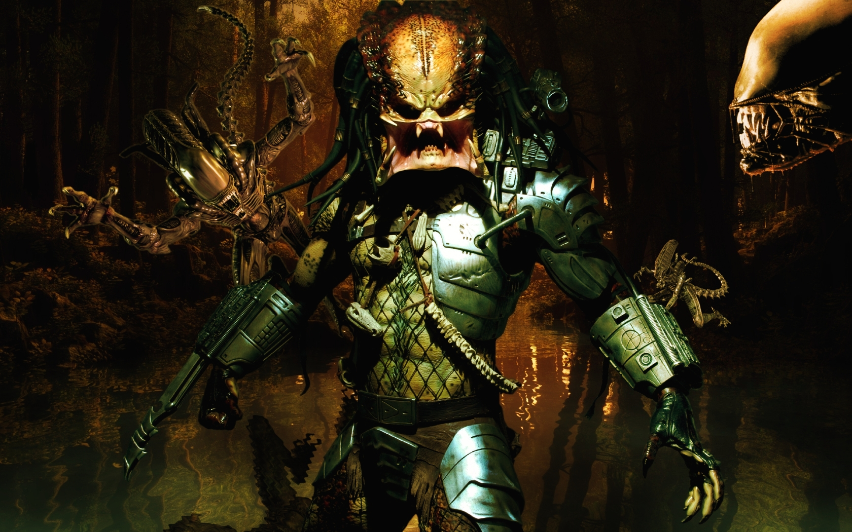 Wallpaper Abyss Explore the Collection Predator Sci Fi Predator 346984 1680x1050
