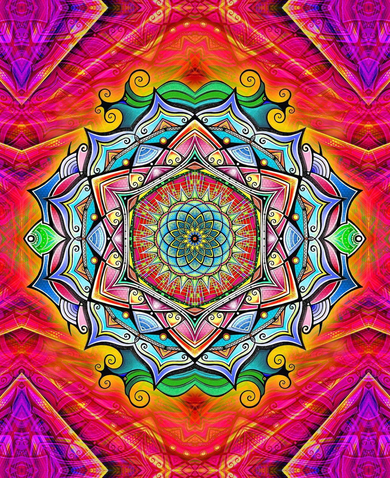 Wallpaper iphone mandala - Mandala Wallpaper Iphone Top Hd Images For Free