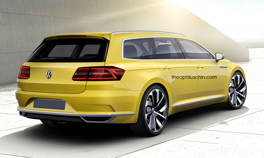 VW Arteon Shooting Brake Rendering Shows Everything Thats Wrong 1000x600