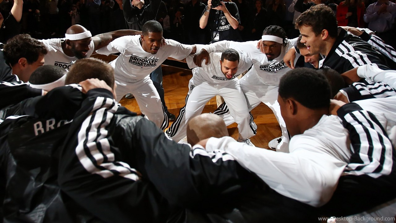 Wallpaper Deron Williams Joe Johnson Basketball 1280x720