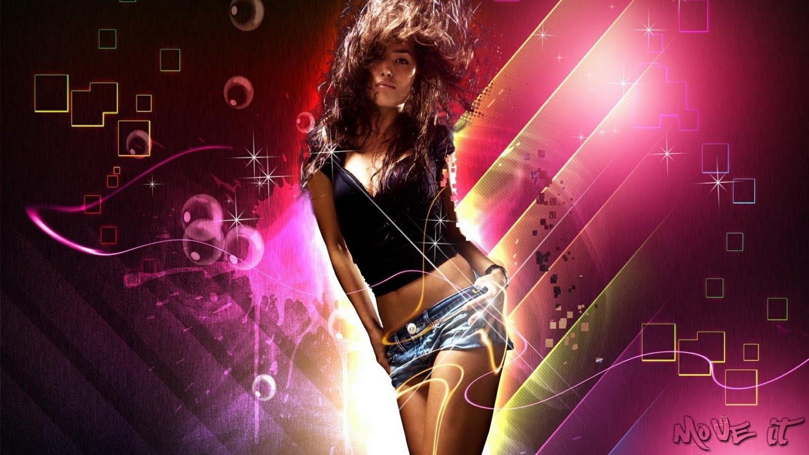 3d Girl Dance Hd Wallpapers: Music Girl Wallpaper HD