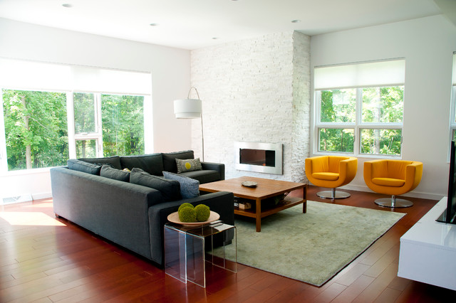 Modern Farmhouse Living Room PC Android iPhone and iPad Wallpapers 640x426