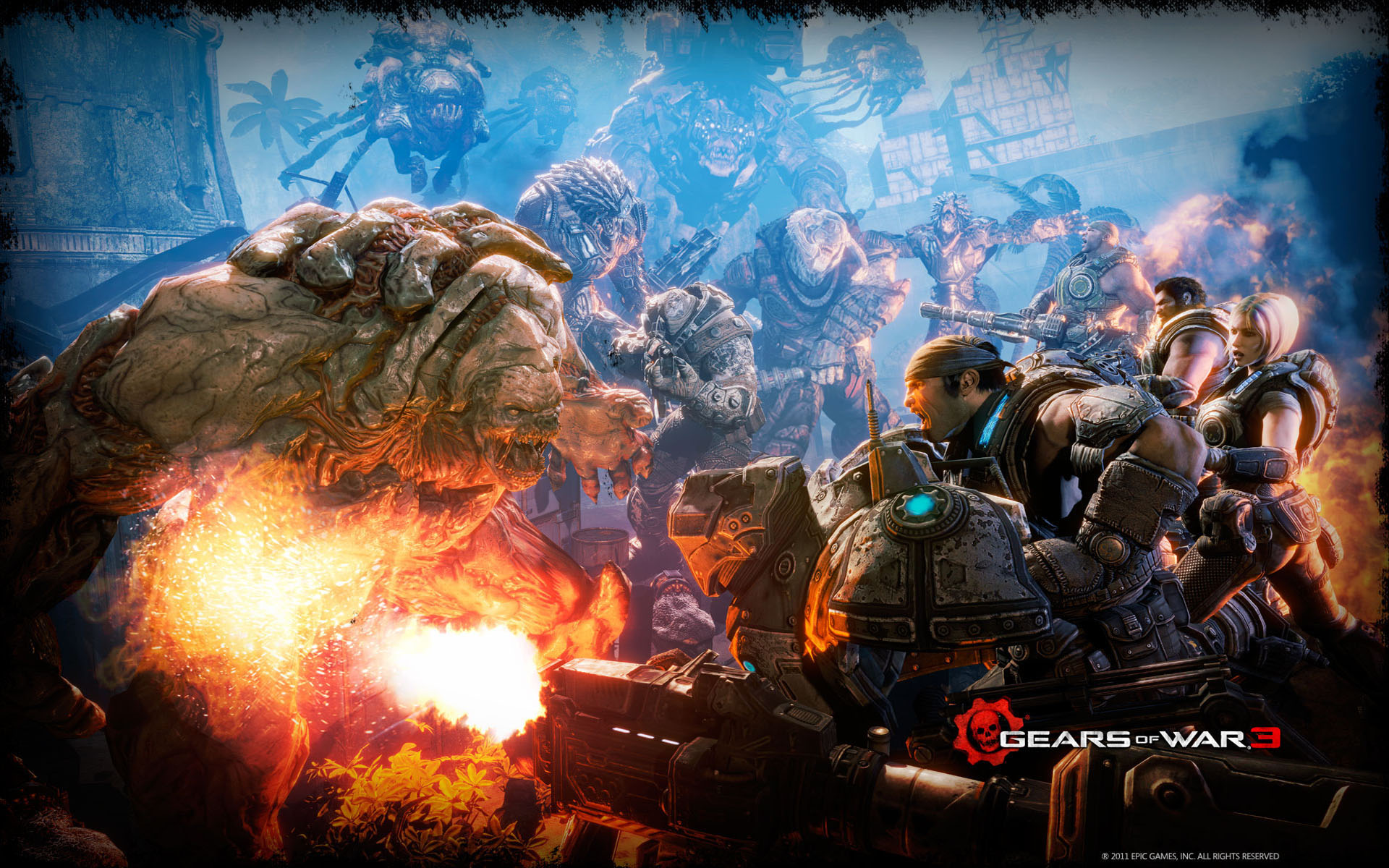 Resolution Wallpapers Pictures Gears of War 3 Wallpapers 1920x1200 1920x1200