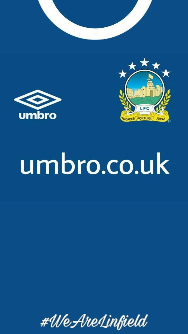 Linfield of Northern Ireland wallpaper Soccer jersey Soccer 640x1137