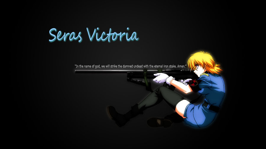 Seras Victoria Wallpaper by lordkabab 900x506