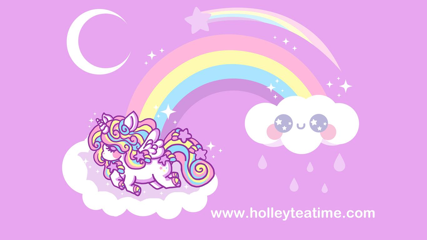 Free Download Wallpapers Holley Tea Time 1366x768 For Your Desktop Mobile Tablet Explore 50 Cute Unicorn Wallpaper Hd Unicorn Wallpaper Kawaii Unicorn Wallpaper Cartoon Unicorn Wallpaper