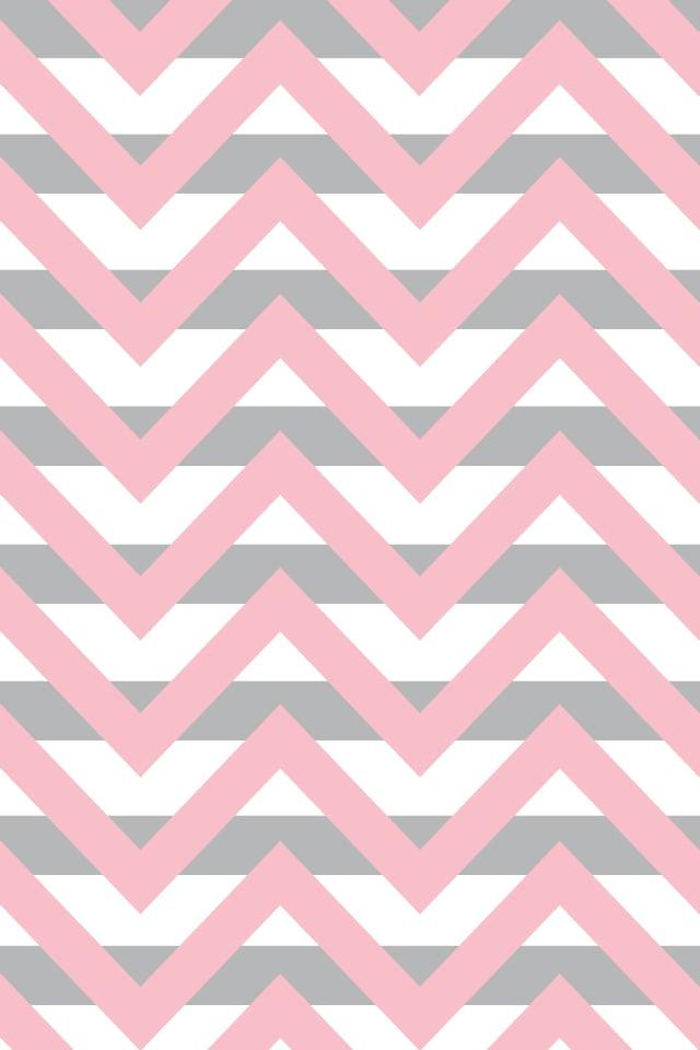 Pink And Grey Chevron Wallpaper Wallpapersafari