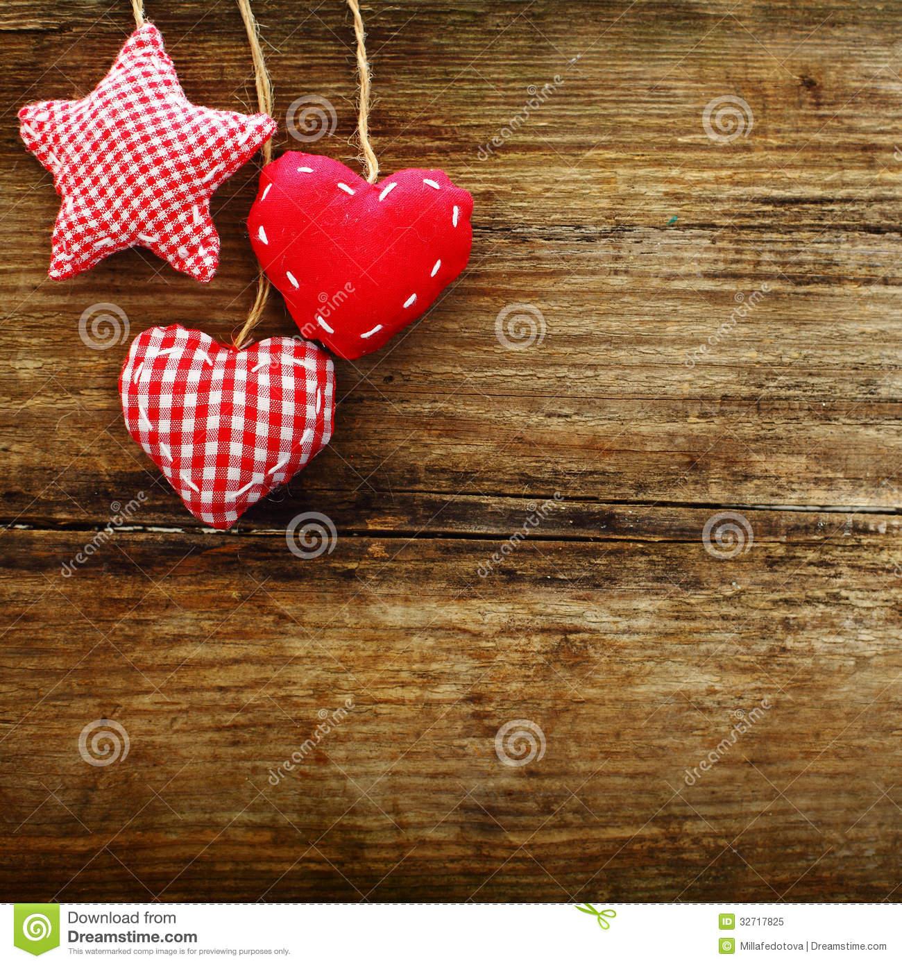 Vintage Heart Background Vintage Valentine Desk...