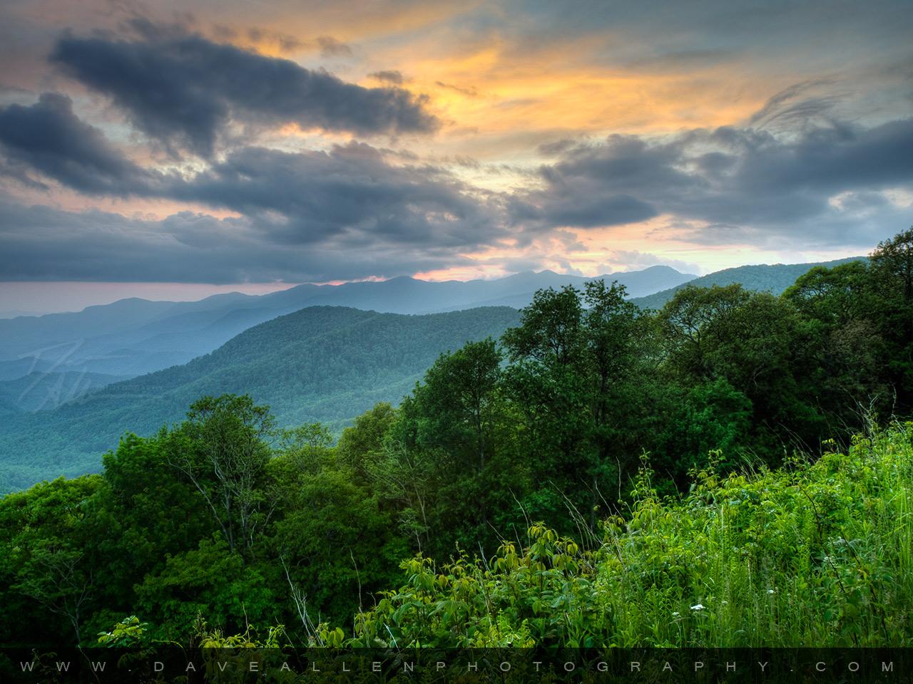 appalachian blue ridge mountains wallpaper - photo #2