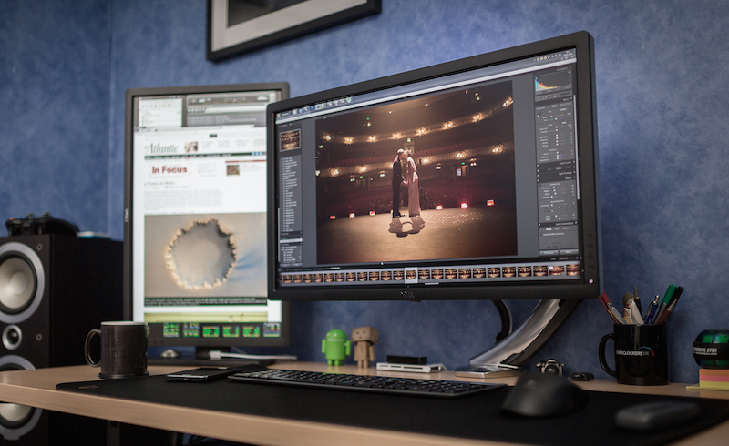 My Dual Screen Editing Setup with a 34 Inch 34401440 LG Monitor 800x490