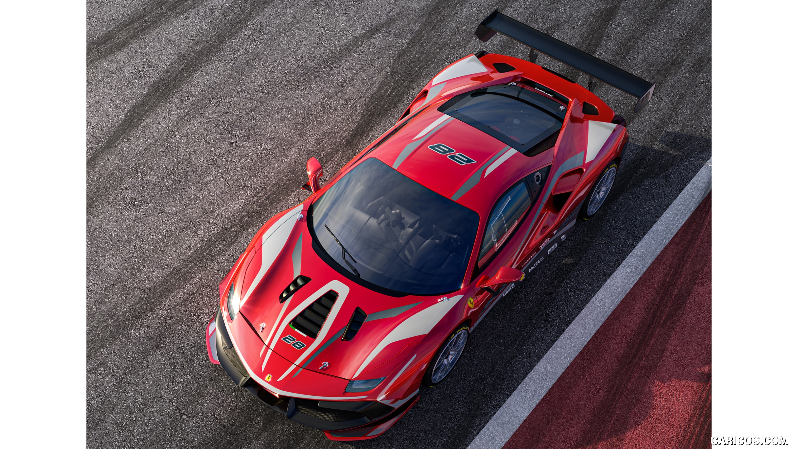 2020 Ferrari 488 Challenge Evo   Top HD Wallpaper 3 2560x1440