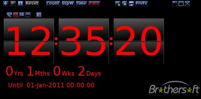 Desktop Countdown Timer 651x322