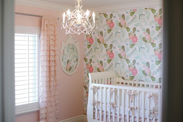 Wallpaper for Baby Girl Nursery  WallpaperSafari