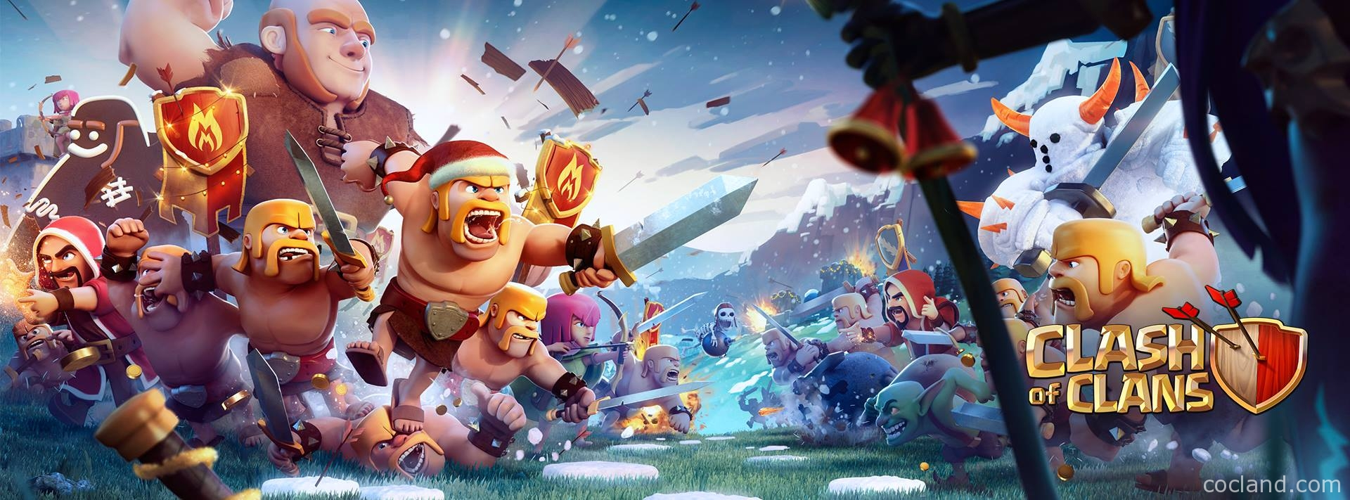 Clash of Clans Wallpaper hd 1080p images 1920x711