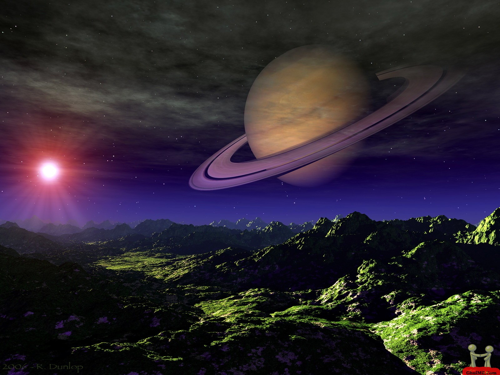 3D HD Planet Wallpaper E Entertainment 1600x1200