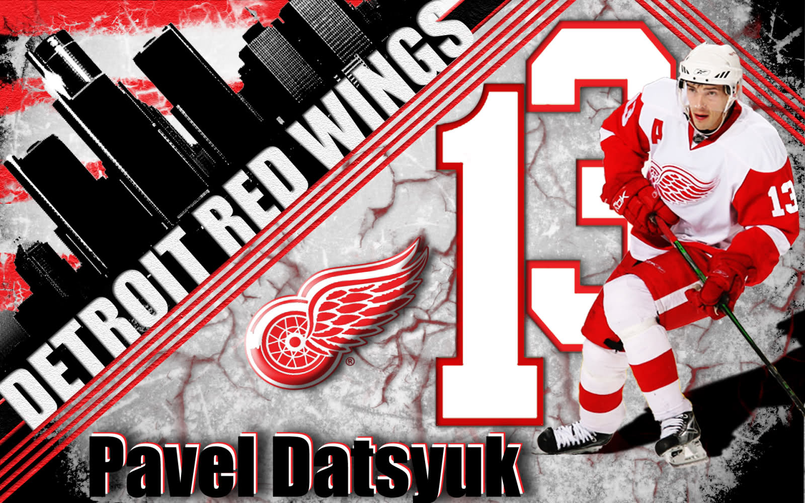 Pavel Datsyuk by GamerGuy094 1600x1000
