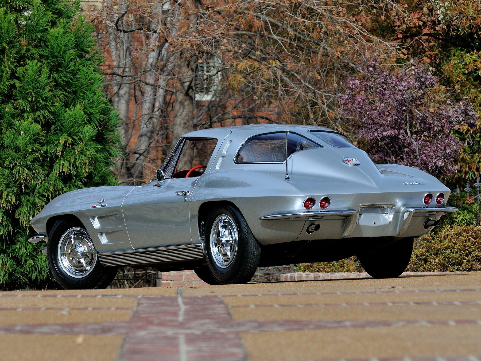 1963 Chevrolet Corvette StingRay Z06 C 2 Muscle Supercar Classic Sting 2048x1536