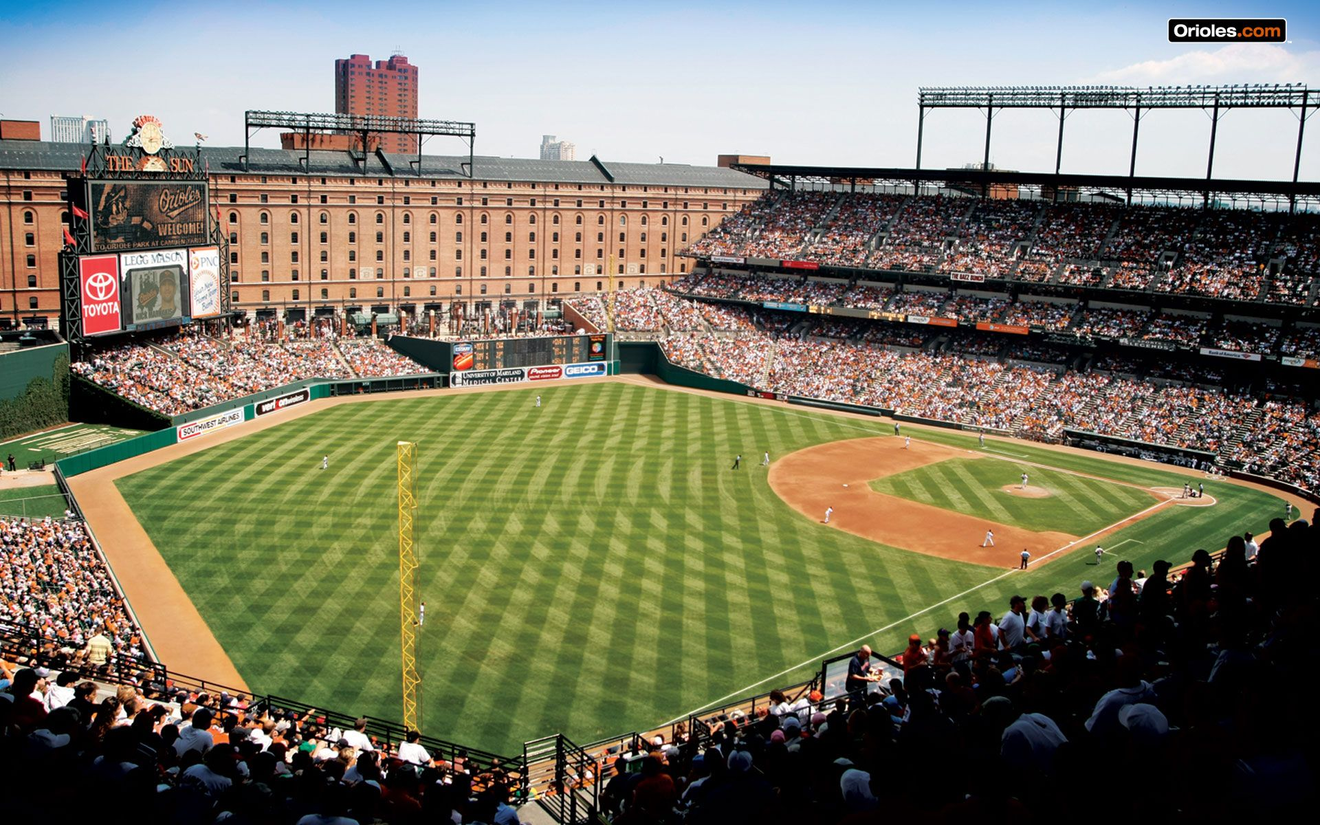 Baltimore Orioles Wallpapers Browser Themes and More Baltimore 1920x1200