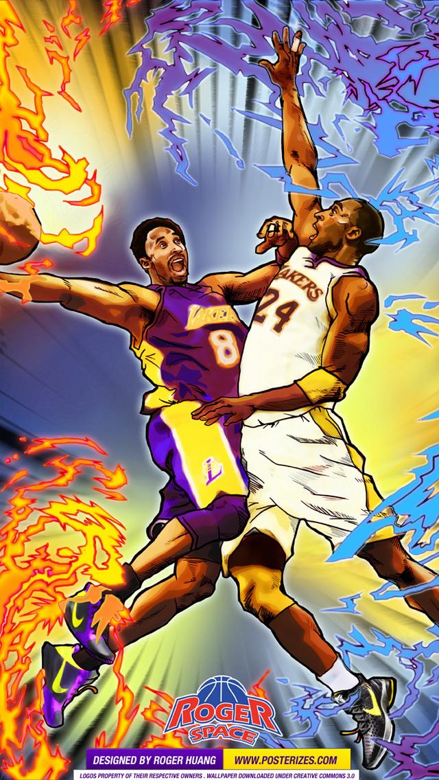 50] Kobe Bryant iPhone 6 Wallpaper on WallpaperSafari 640x1136