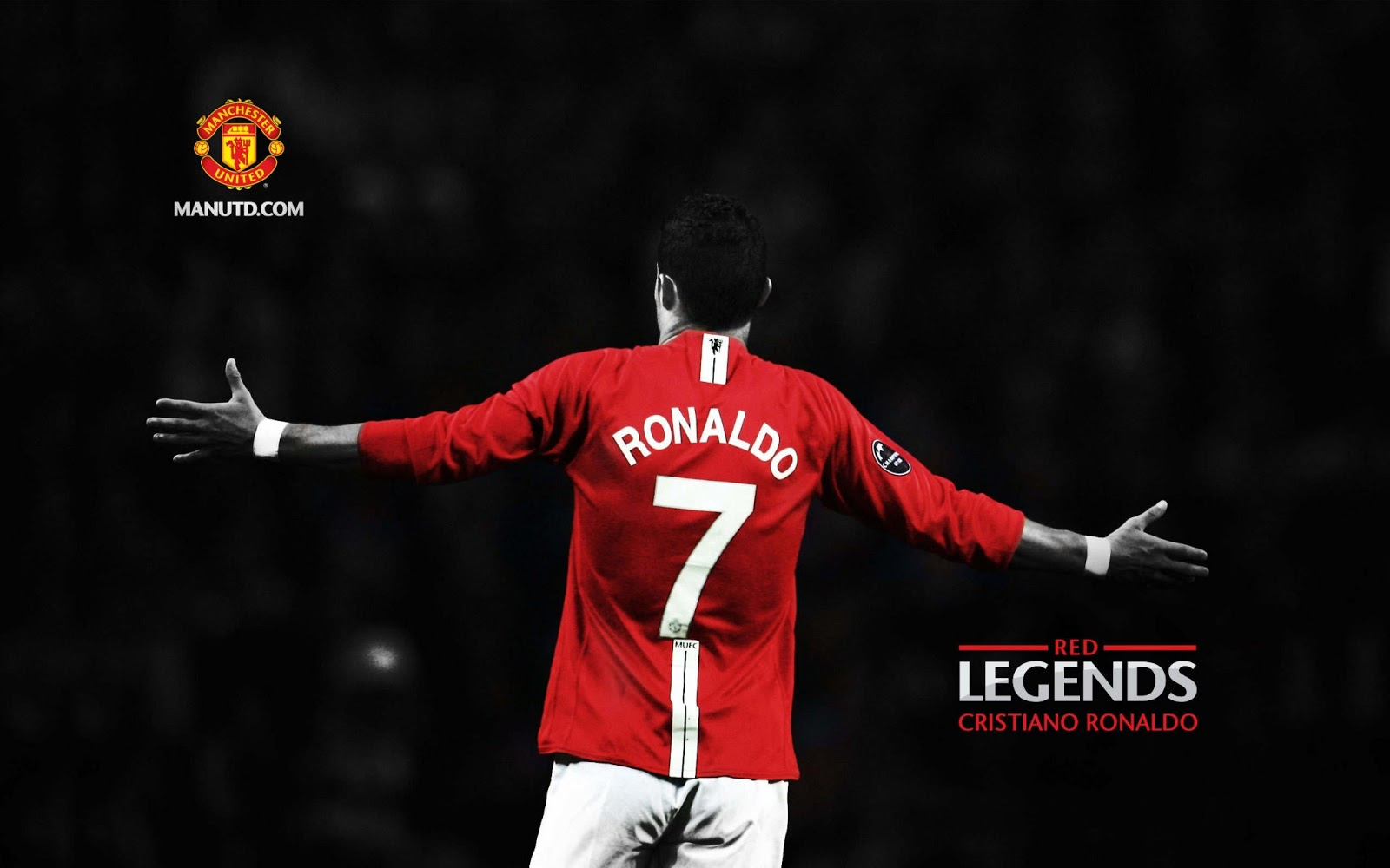 Ronaldo Manchester United Wallpaper HD Download Wallpaper 1600x1000
