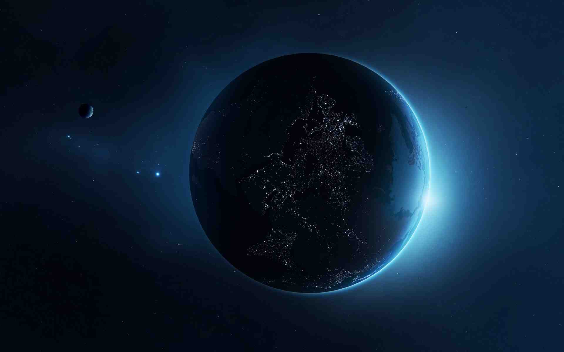 Beautiful Earth at Night HD Wallpapers for Desktop 1920x1200