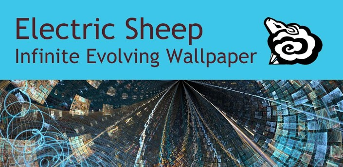 Electric Sheep Infinito Evoluindo Live Wallpaper 705x344