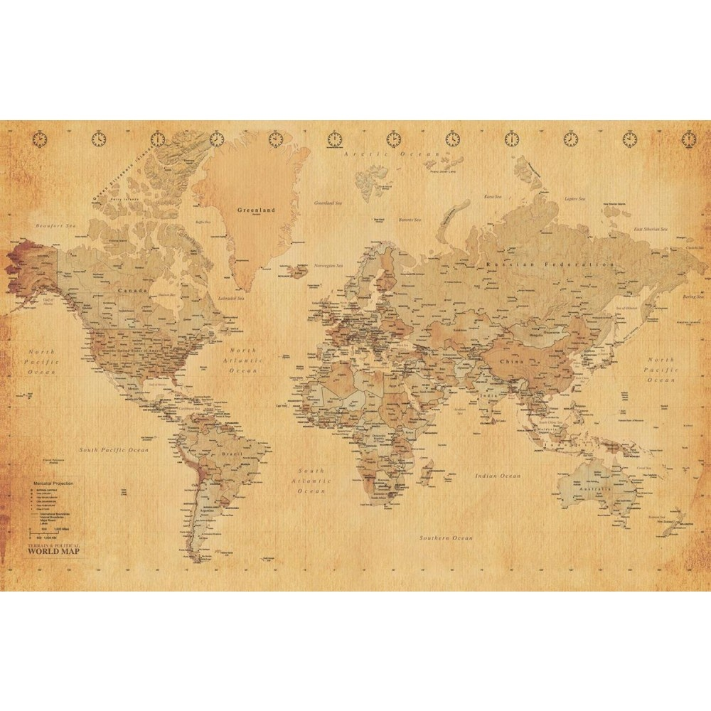Free Download Wall 1 Wall Old World Map Atlas Wallpaper Mural 158m