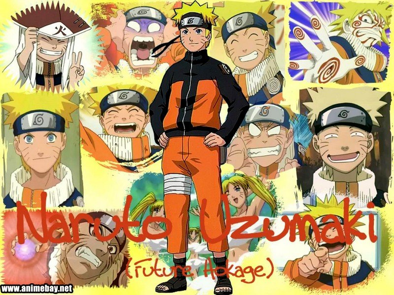 Naruto Characters In Real World Background Wallpaper: Naruto Characters Wallpaper