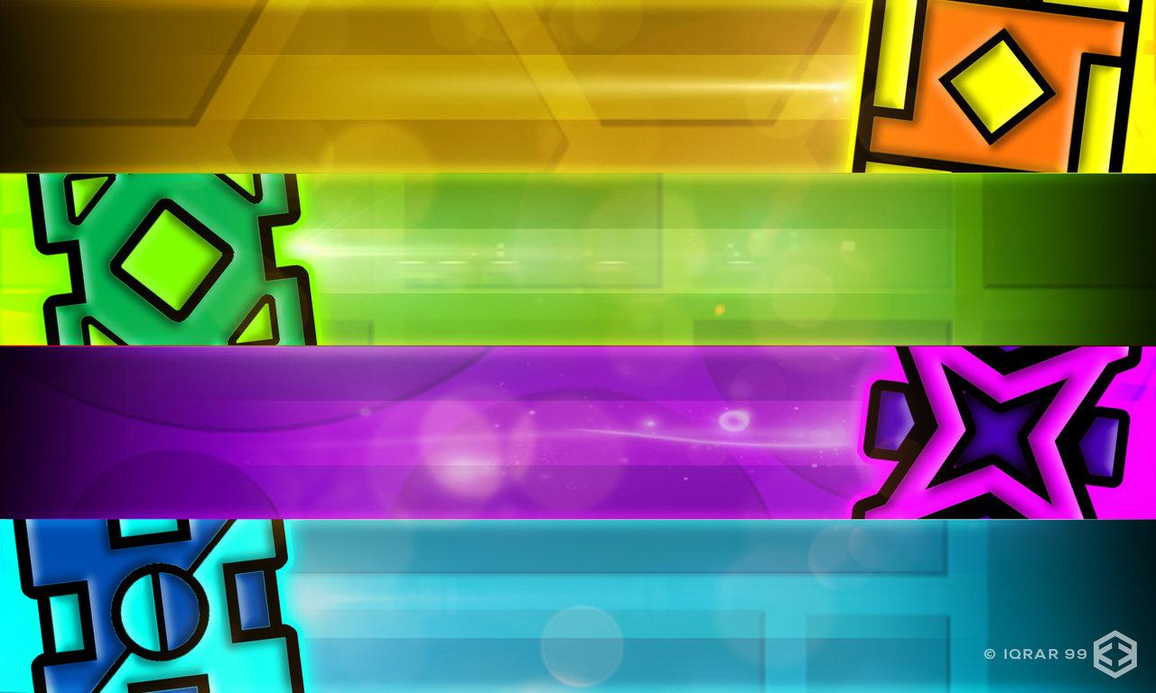 Geometry Dash Wallpaper 3 by Iqrar99 1280x768