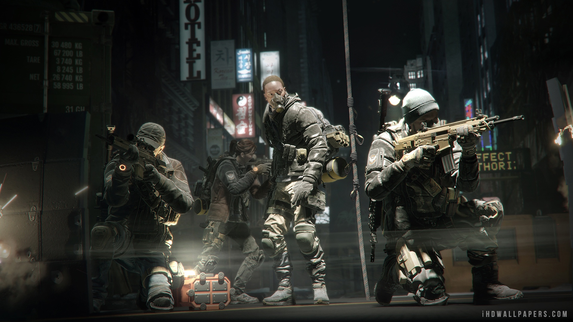 Tom Clancys The Division Team Formation HD Wallpaper   iHD Wallpapers 1920x1080