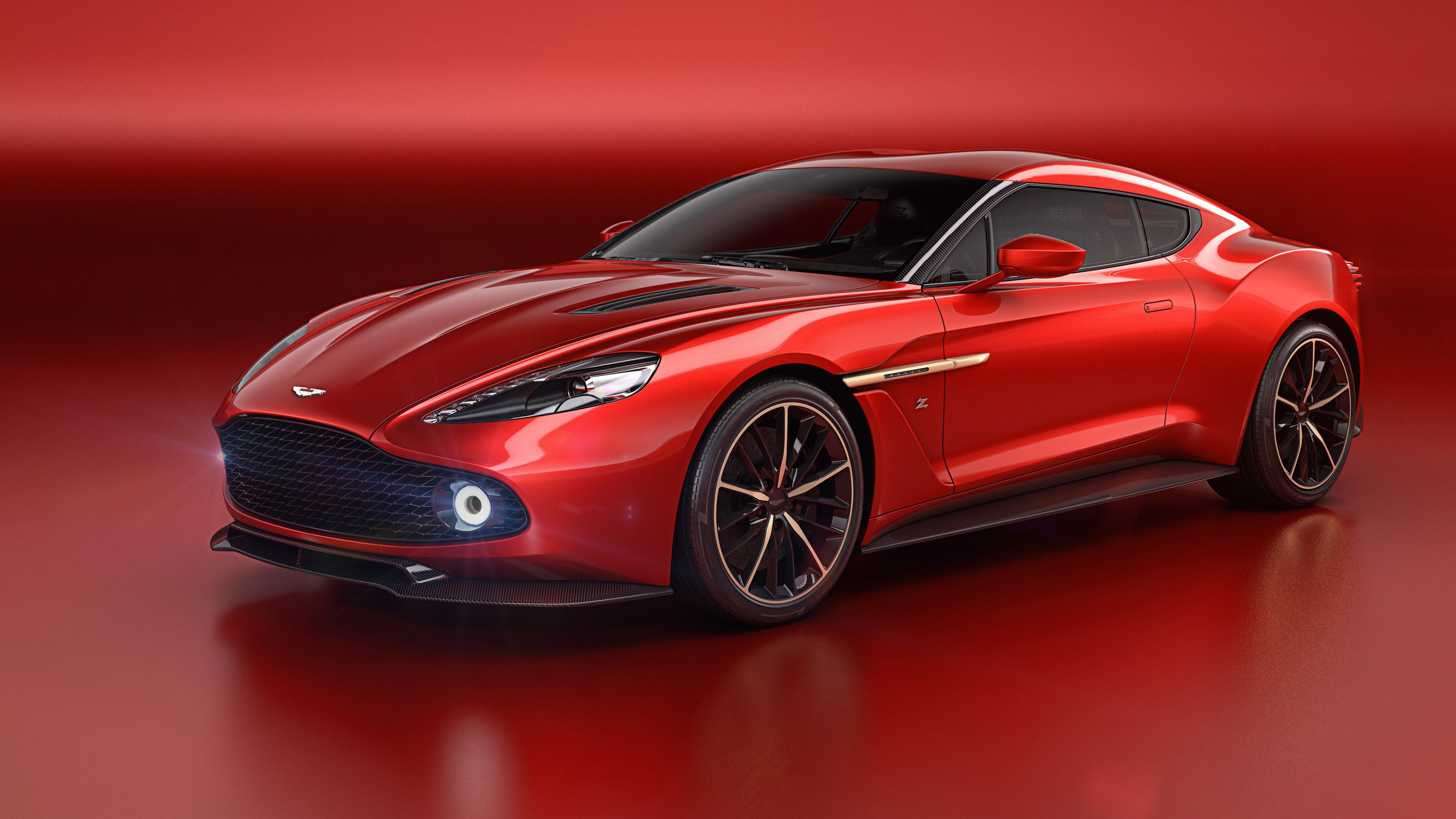 Aston Martin Vanquish Zagato Wallpapers in jpg format for 3840x2160
