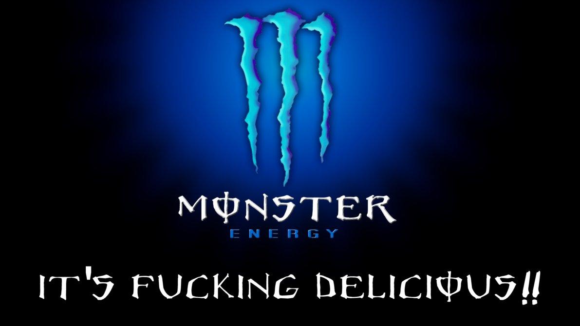 Blue Monster Energy Logo Monster hd wallpaper blu by 1191x670