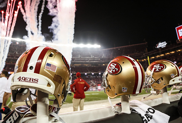 49ers 2015 Schedule by the Numbers 600x405