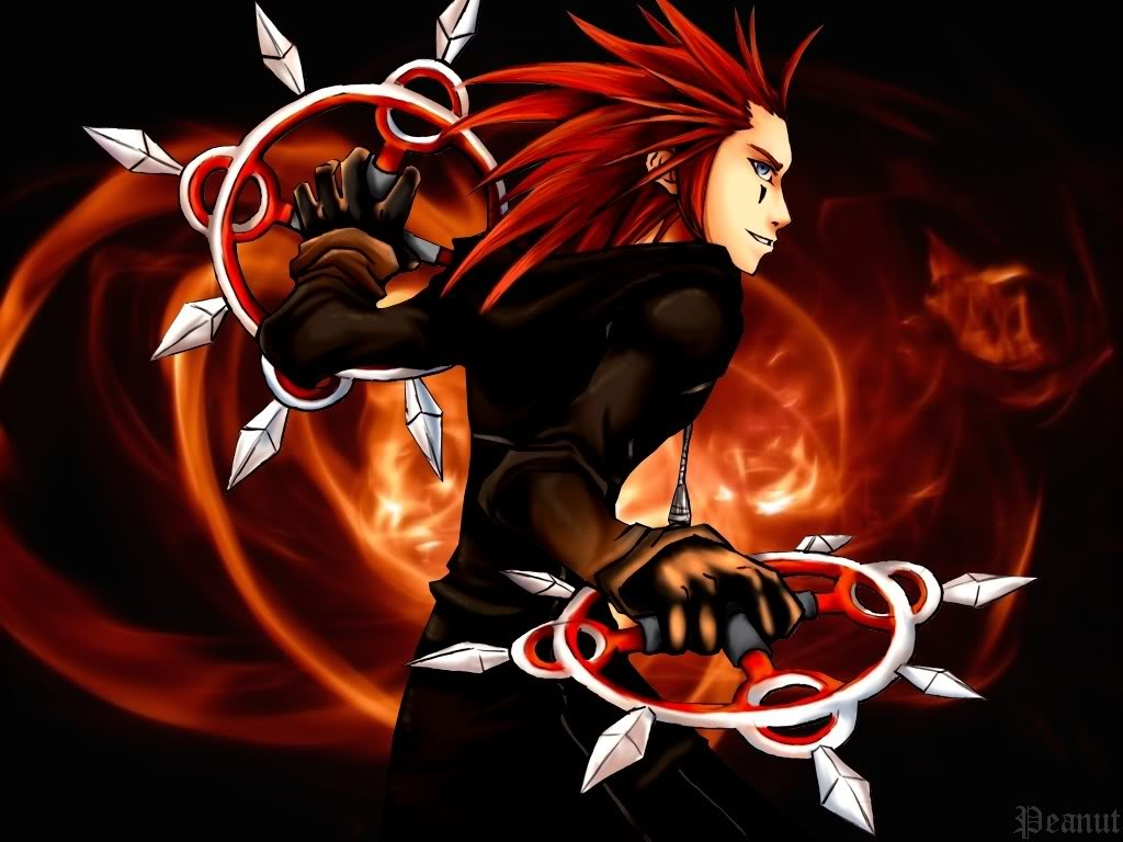 Free Download Ii Axel Kingdom Hearts 1024x768 Wallpaper Fire
