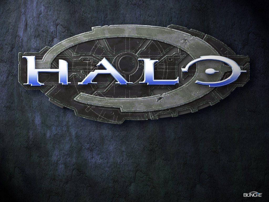 Halo 2 Combat Evolved Logo Wallpaper 1024x768