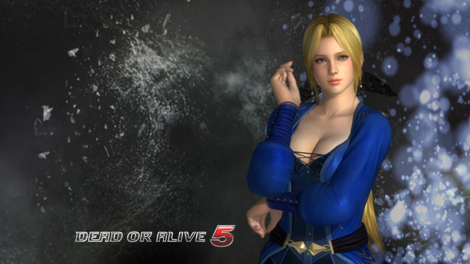 Eyesurfing Dead or Alive 5 Game Wallpaper 1600x900