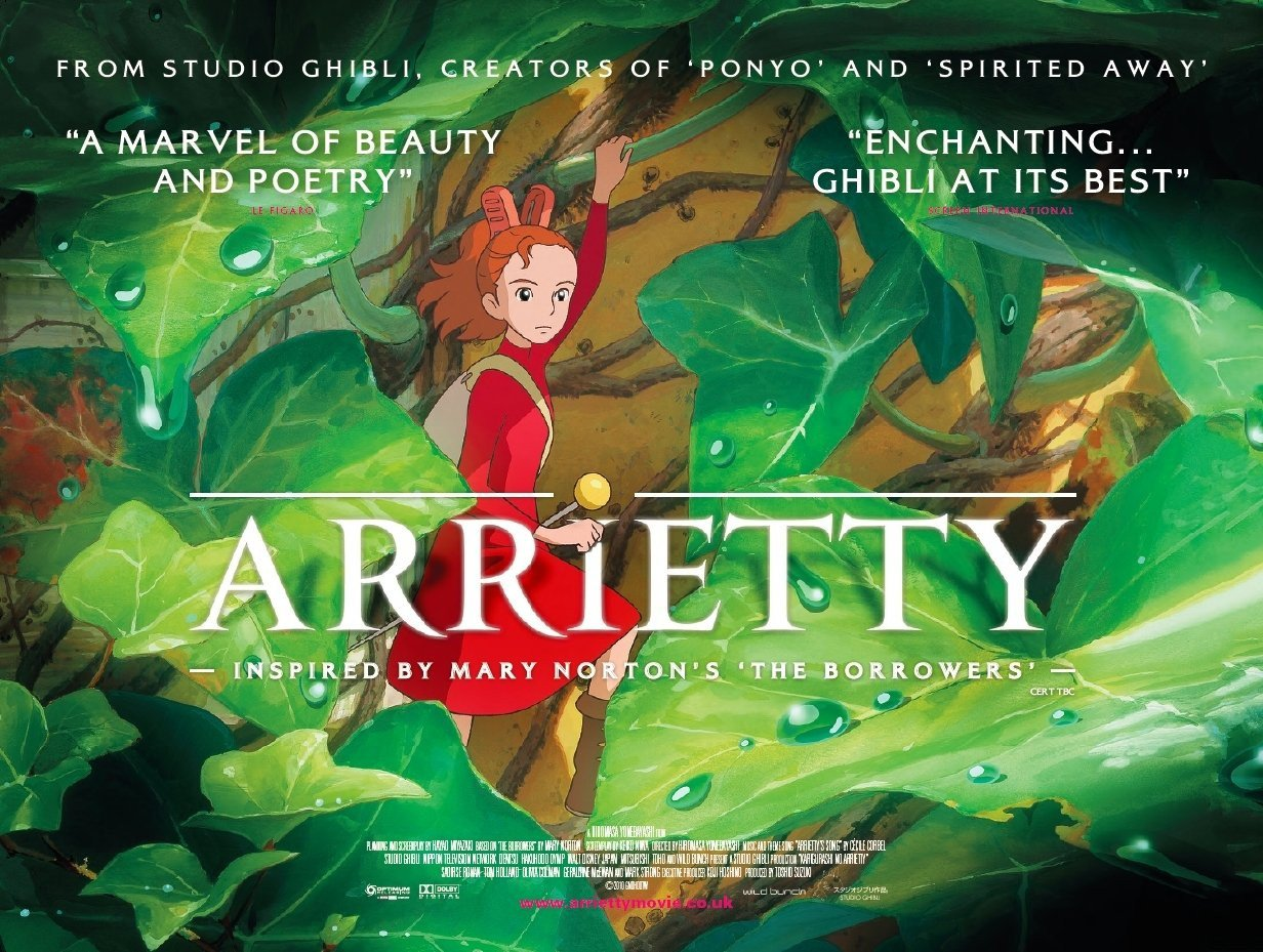 wallpapers Hollywood movies wallpapers The secret world of arrietty 1232x929