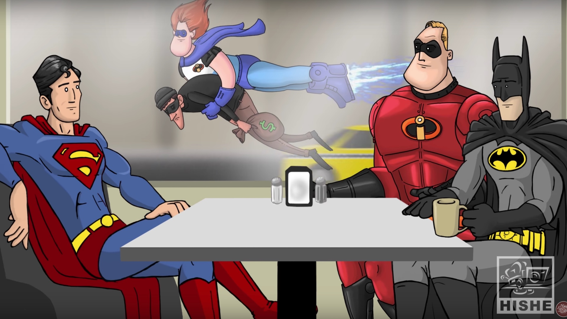 How THE INCREDIBLES Should Have Ended   What if Mr Incredible Had 1920x1080